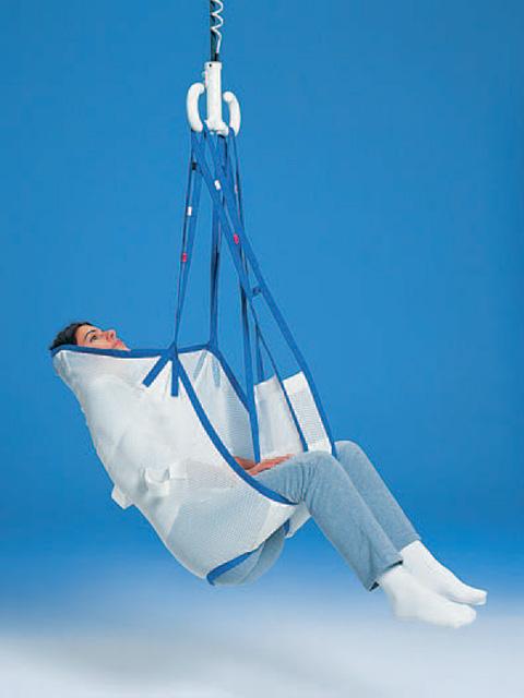 Hebetuch mit Kopfstütze Netz