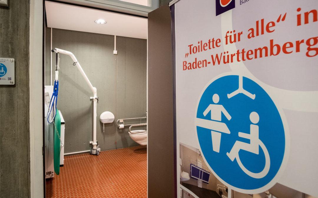 Toilette für alle Wandlift Curator